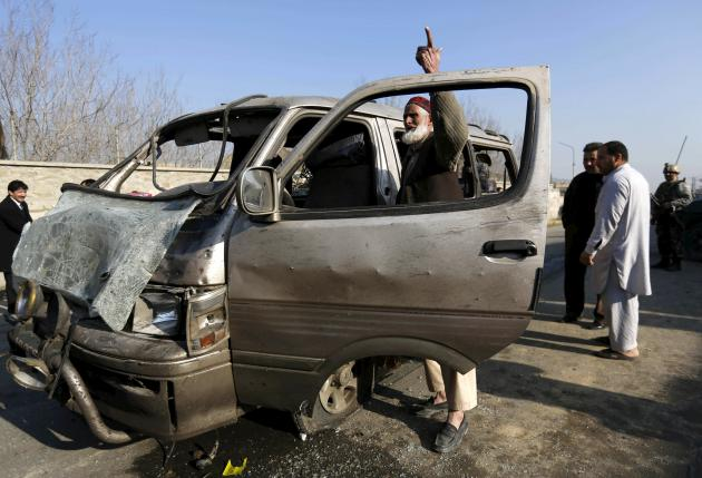 One Killed, 33 Wounded in Kabul Suicide Attack