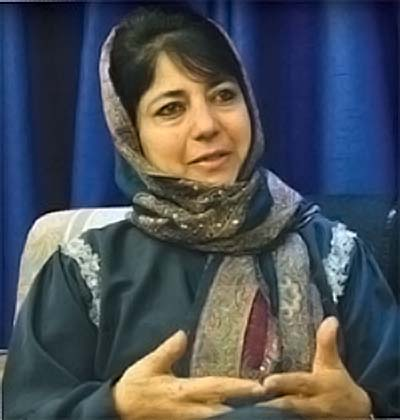 Mehbooba Convokes Crucial Party Meeting At 4pm
