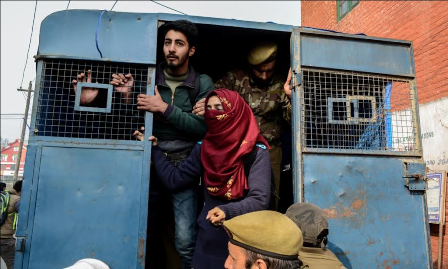 Police Detain Student Protesters