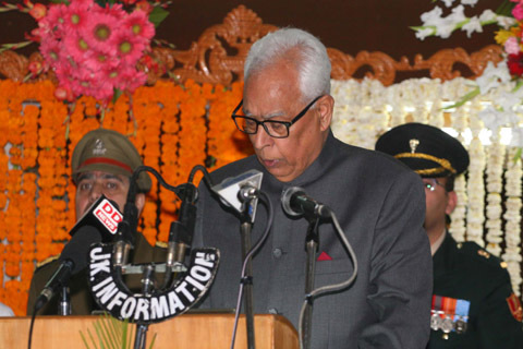 Hope Kashmir Gets Elected Government Soon: Governor