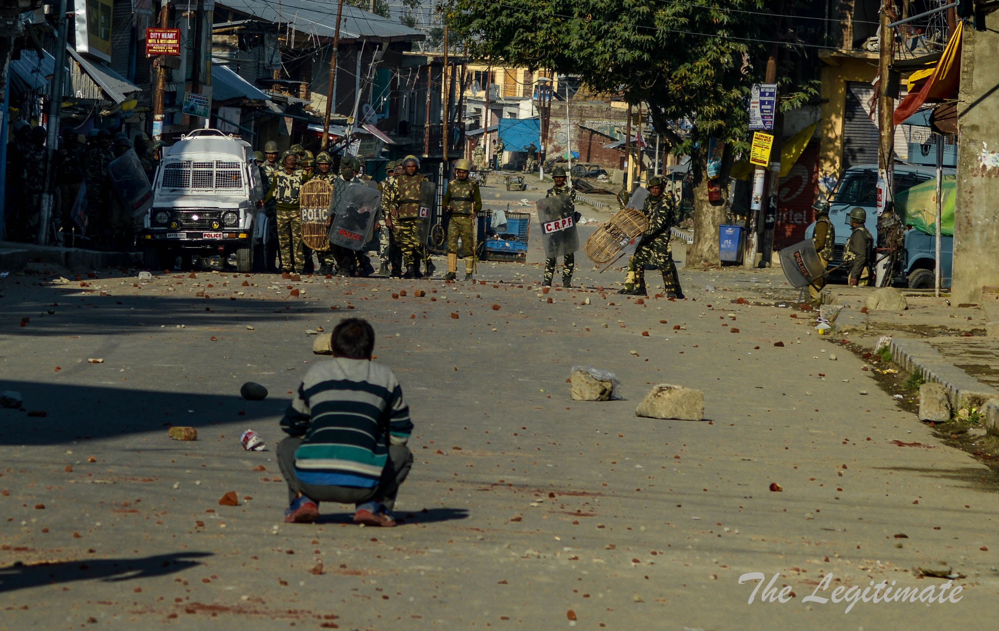 Youth Injured In Stone Pelting