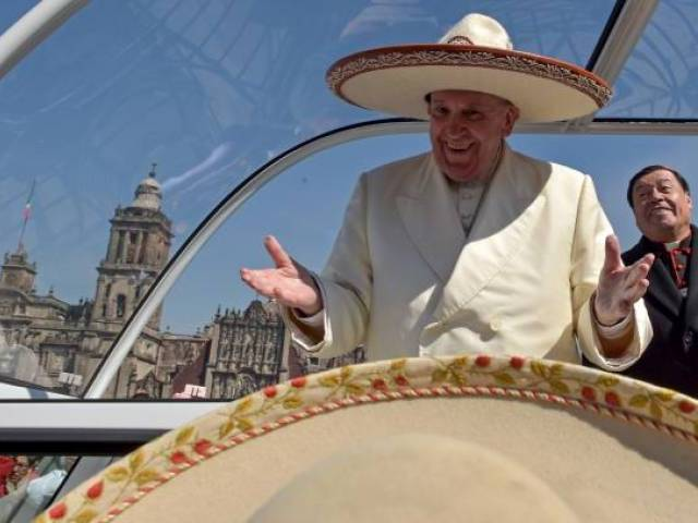 Jesus Does Not Want You To Be Hit Men, Pope Tells MexicanYouth