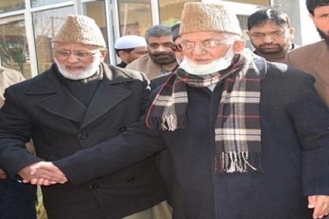 Geelani Leaves For Delhi, Flogs 'Arrest Fling'