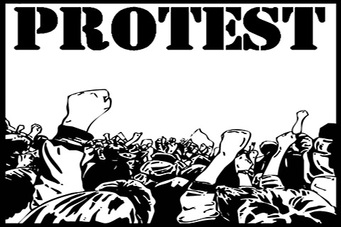 Budgam Beat Drums, Protest In Kangan Against NFSA