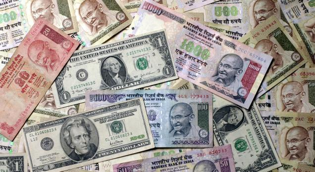 Rupee Down 8 Paise Against Dollar In Early Trade