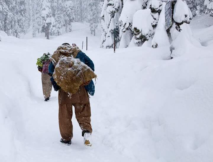 Gulmarg, Other Places Witness Snowfall For 3rd Day