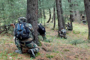 Militant, SOG Man Killed As Fresh Exchange Of Fire Resumes In Tral Forests