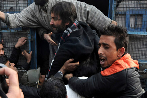 JKLF Chief Yasin Malik Berates Army Over Its 'Direct Threat' To Kashmiris