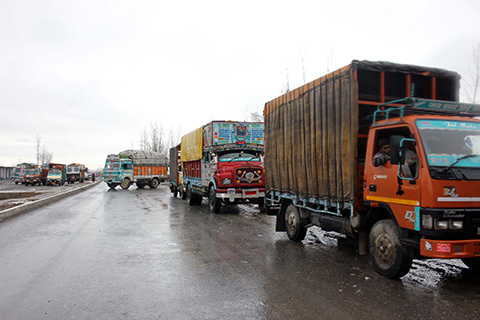 Jammu-Srinagar National Highway Closed For Traffic
