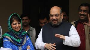 Challenges Before PDP-BJP Govt