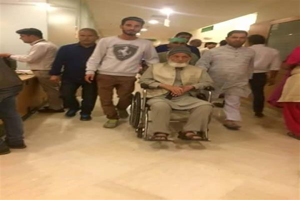 After Three Days, Geelani Discharged From Max hospital
