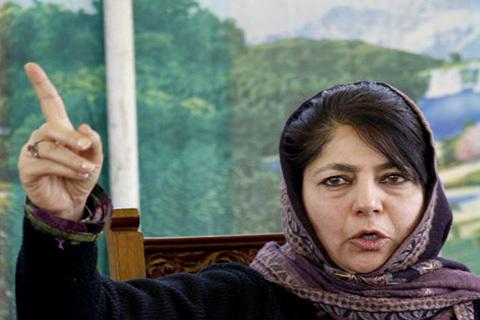 CM Mehbooba Meets BJP President Amid Fresh Kashmir Violence