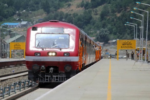 Kashmir Train Service Remains Suspended For Third Day