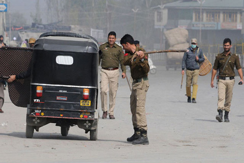 Restrictions In And Around Lal Chowk Srinagar