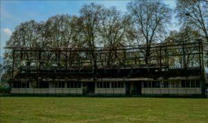 Sheri Kashmir Stadium Lies In Ruins