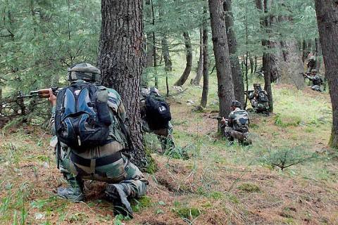 Encounter Rages In Drugmulla Village Of North Kashmir