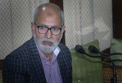 Mufti Sayeed Was A Great Visionary, School Of Politics: Naeem Akhtar
