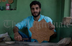 Once Dying, Kashmir's Wood Carving On Progressive Path