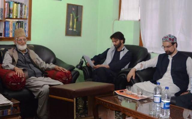 Sainik Colony: Geelani, Malik, Mirwaiz Call For Shutdown On Thursday