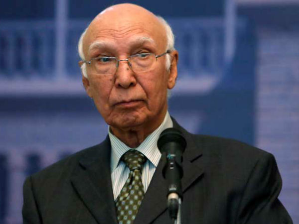 India Trying To Deflect Attention From Kashmir Through Uri Attack: Sartaj Aziz