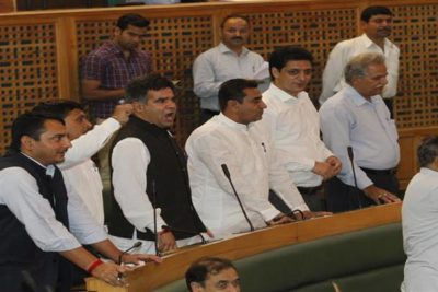 Budget Session Starts On Noisy Note, Opposition Stages Walkout