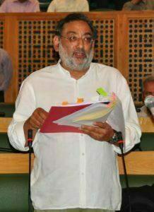 Drabu Presents '76,335 Crore Budget'