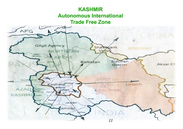 Make Kashmir Free Zone For Economics Of Peace