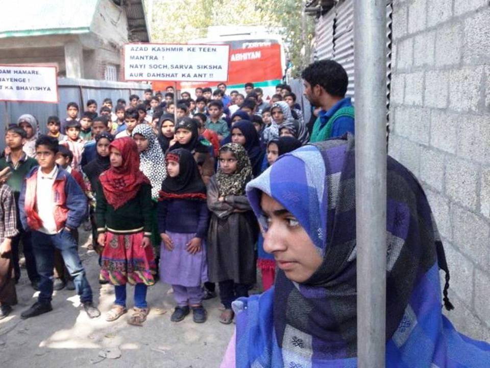 Amid Shutdown, Army Launches School Chalo Abhiyaan