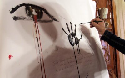 In Kashmir, Artists Depict Tragedy On Canvas