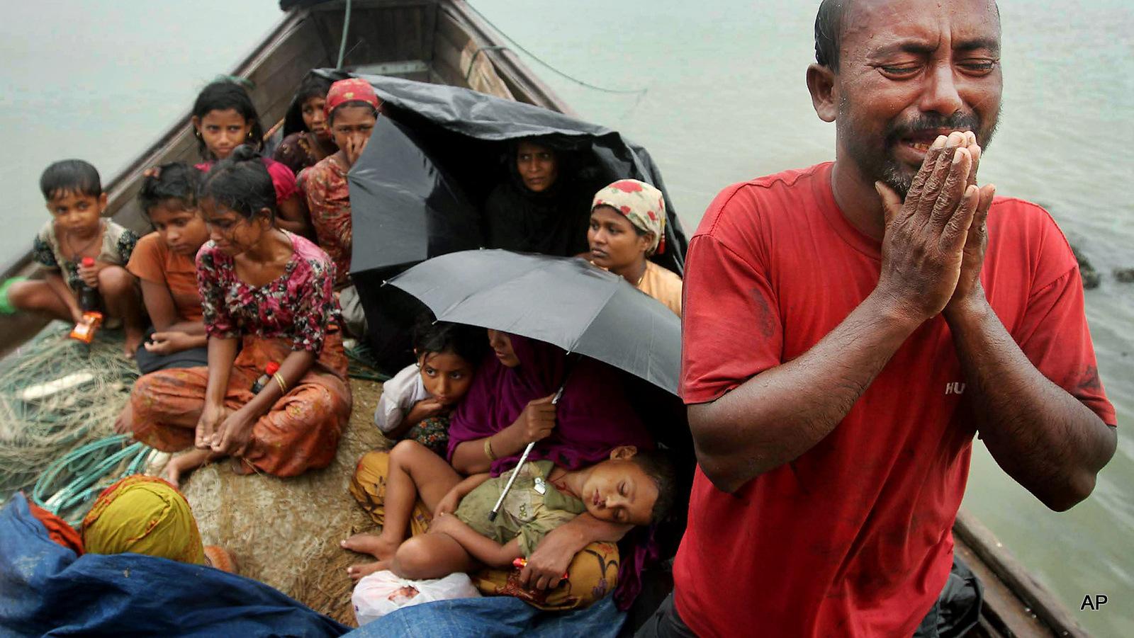 Rohingya Refugees Flee Torture, Rape In Myanmar