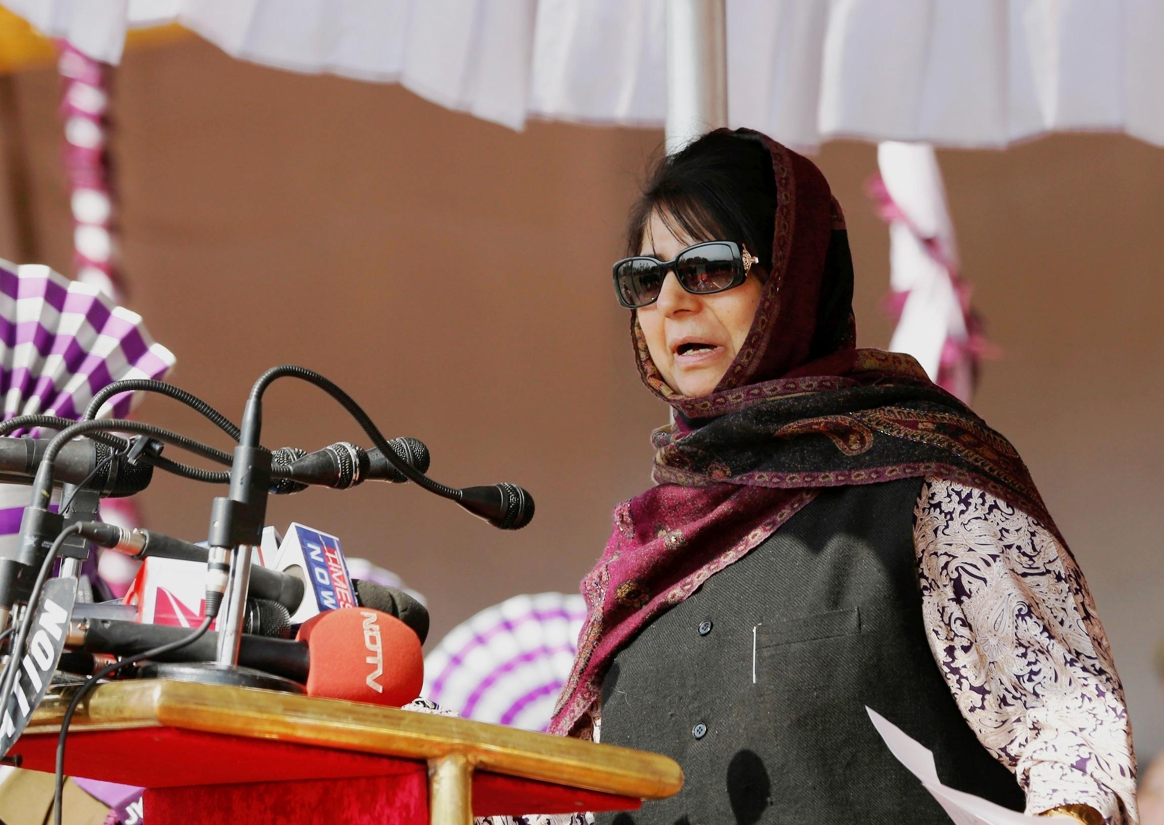 Jammu Kashmir Biggest Victim Of Partition, Says Mehbooba