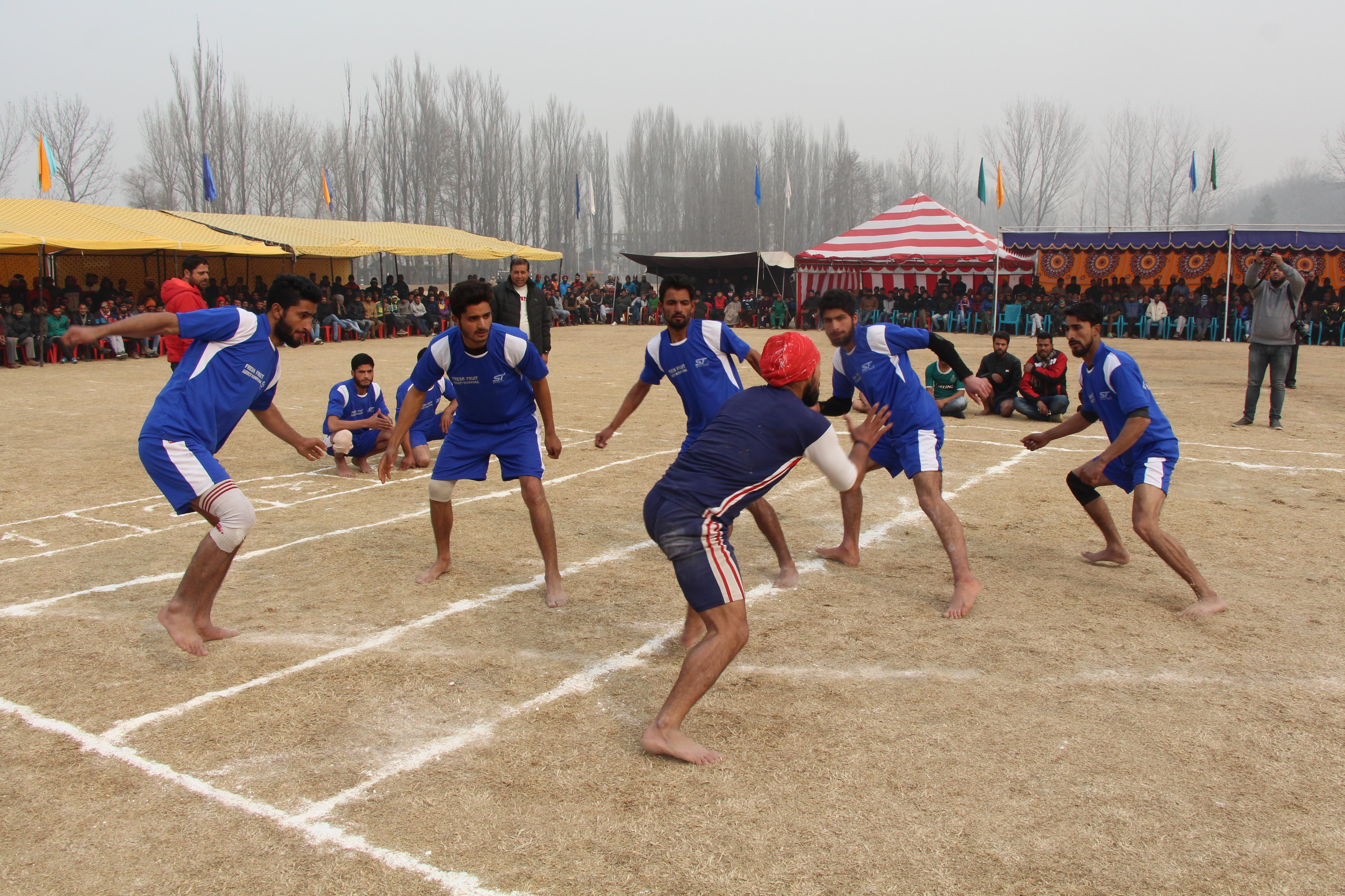 North Kashmir Sports Festival Kicks Off In B'LA