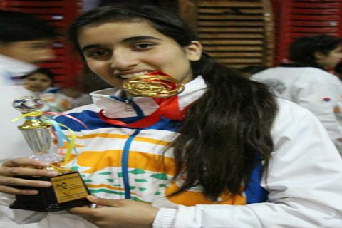 Mehroosh Wins Gold In Martial Arts Championship In Bhutan