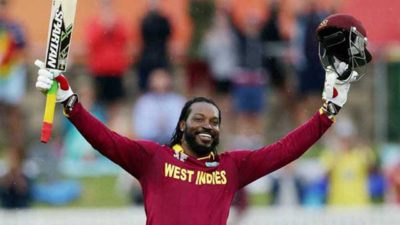 Gayle Marks Record Of 10000 Runs In T20