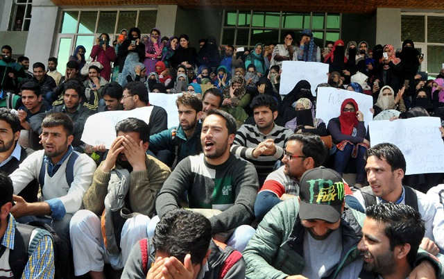 Protests Continue In Kashmir, Govt Attach Pulwama College Principal