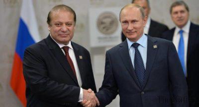 "Putin Congratulated Sharif On Pakistan""s Accession To The SCO"