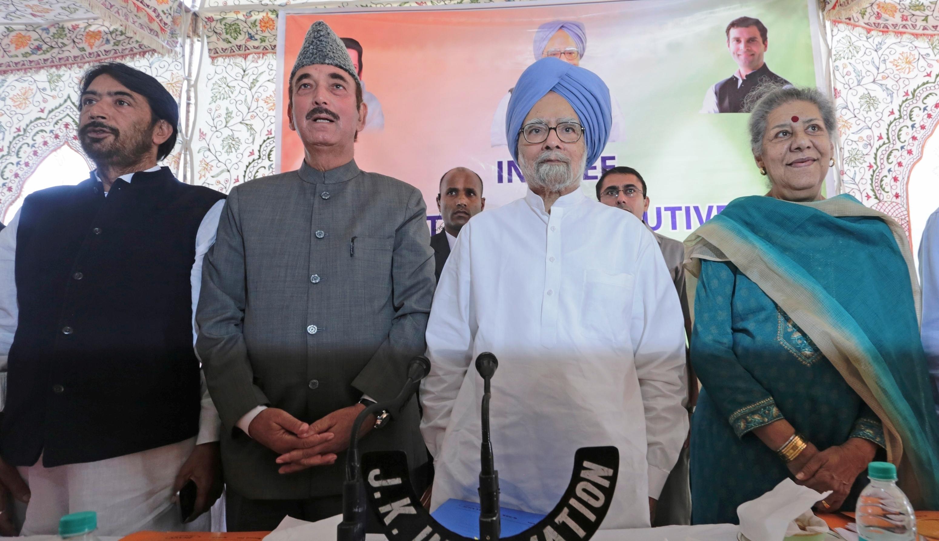 Congress And Kashmir Failure