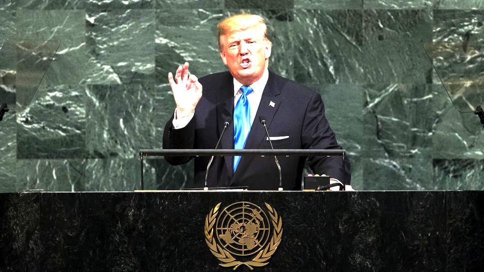 Trump's Maiden Speech At The UN Reprimand North Korea, Iran And Venezuela