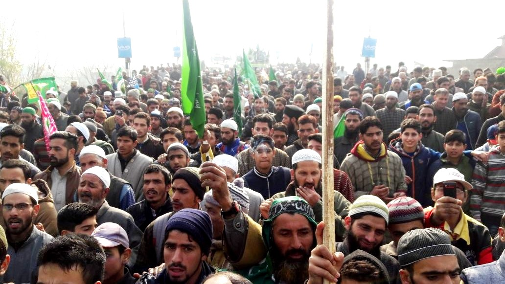 Thousands Attend Milad un Nabi SAW Rally At Baramulla