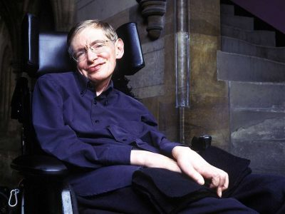 Professor Stephen Hawking And The World Of Science