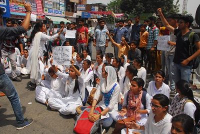 Kathua Rape and Murder : Kathua Students Rallied Against Communal Forces