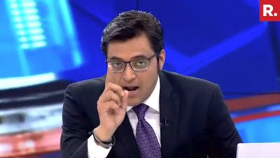 Arnab Goswami Ideology Counters Secular Credentials