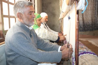 Kashmir's Fluctuating Carpet Industry