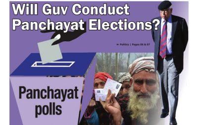 Will Guv Conduct Panchayat Elections?