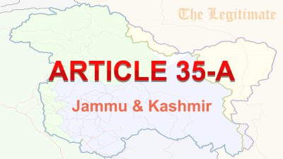 Article 35A Raises The Temperature In Jammu And Kashmir