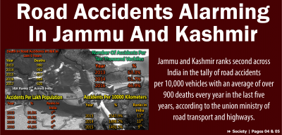 Road Accidents Alarming In Jammu And Kashmir