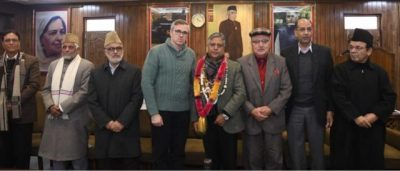 Committed To Protect Interests Of The State And Its People –Omar Abdullah Presides Over Party's Provincial Committee Meeting In Srinagar