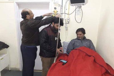 Jailed JKLF Chief Yasin Malik Shifted To SKIMS Soura For Health Check-Up