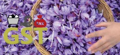 GST Waiver On Saffron Industry