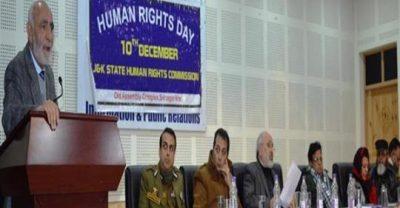 JKHRC Observes 70th Human Rights Day